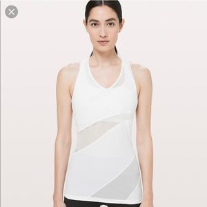Lululemon Mesh In Motion Tank- NWT- size 10